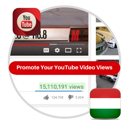 Youtube Views From Hungary