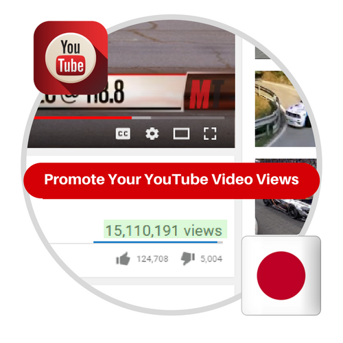 Youtube Views From Japan