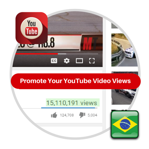 Youtube Views From Brazil