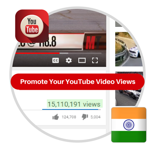 Youtube Views From India