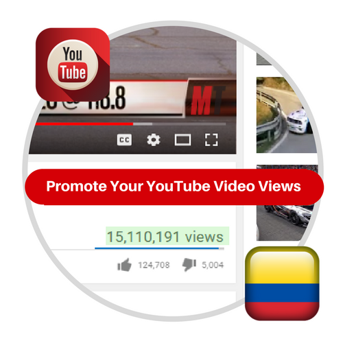 Youtube Views From Colombia