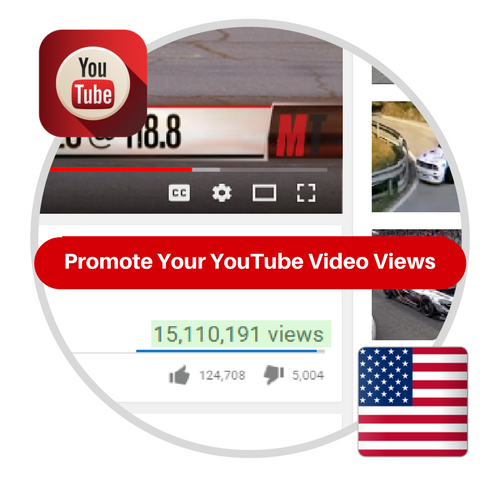Youtube Views From USA