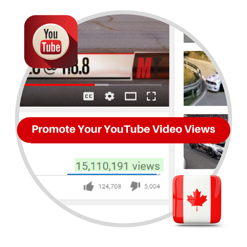 Youtube Views From Canada