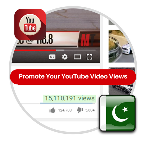 Youtube Views From Pakistan