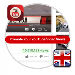 Youtube Views From UK