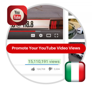 Youtube Views From Italy