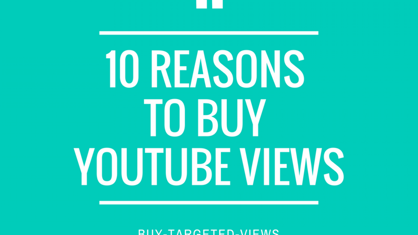 10 Reasons You Should Buy From Us!